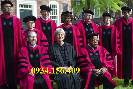 xưởng may áo tốt nghiệp, áo tiến sĩ thạc sĩ áo cử nhân