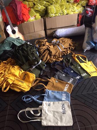 may túi xách không dệt ở bình dương 0934156409
