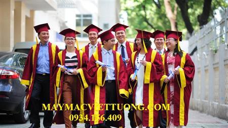 xưởng may lễ phục tốt nghiệp cử nhân đồng nai
