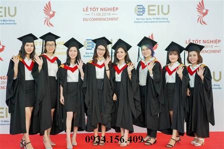 xưởng cho thuê lễ phục tốt nghiệp, nón cử nhân đại học