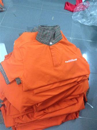 xưởng may áo thun đồng phục quảng cáo dịp cuối năm  09341564