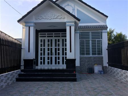 Nhà thổ cư, đường Phạm Hùng (870B)  xã Trung An tp Mỹ  Tho T