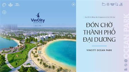 Vincity Ocean Park Chỉ 800tr/căn,Chiết khấu 12,5%
