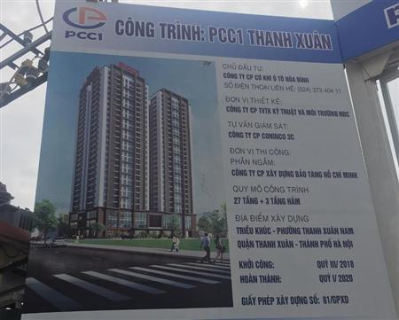 PCC1 Thanh Xuân mở bán đợt 1 cơ hội vàng cho đầu tư