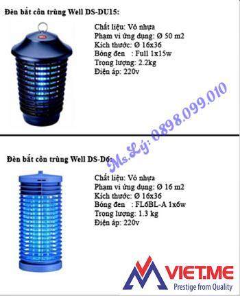 Đèn diệt côn trùng giá tốt tại Bắc Ninh