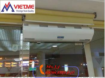 Quạt cắt gió, chắn gió, air curtain lắp đặt tại Bắc Ninh