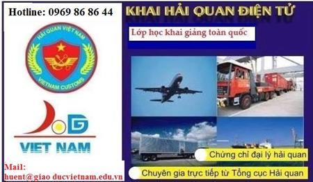 Mở lớp nghiệp vụ khai hải quan điện tử tại TP HCM, Hà Nội...