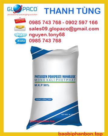 Bao pp dệt, bao pp,bao bì phân bón 25kg giá tốt tại Đồng Nai