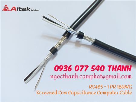 RS485 1P18AWG Altek Kabel, cáp tín hiệu RS485, cáp mạng CN