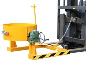Bộ kẹp quay đổ thùng phuy sắt và nhựa 350kg QD350