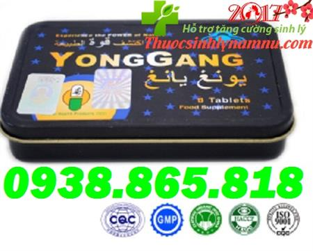 Thuốc YongGang tăng cường phục hồi sinh lý cực mạnh cho Nam