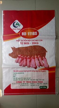 Bao PP dệt đựng thức ăn chăn nuôi gia súc