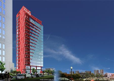 Cho thuê  văn phòng cao cấp  Richy  Tower, 35 Mạc Thái Tổ, C