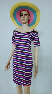 Áo đầm thời trang cách điệu, xẻ tà giá sỉ cực rẻ 48k