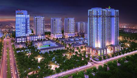 Cho thuê văn phòng tại Thanh Xuân Complex- Lê Văn Thiêm, Tha
