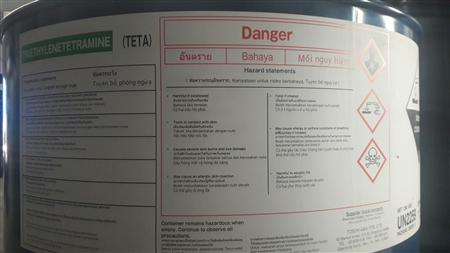 Chất đóng rắn cho nhựa Epoxy Triethylenetetramine TETA