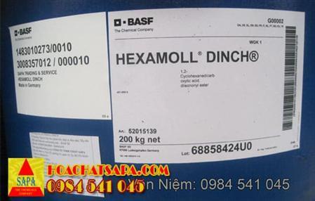 Chất hóa dẻo Hexamoll DINCH sản xuất nhựa an toàn