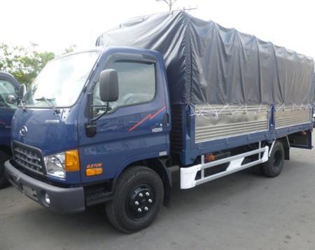 Bán xe tải HYUNDAI HD99 Thùng Mui Bạt