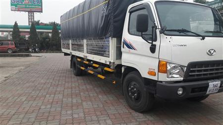 Xe tải Hyundai HD120SL, tải 8 tấn, thùng dài 6,3m