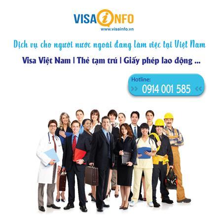 Dịch vụ visa (thị thực) Việt Nam cho người nước ngoài