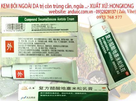 Kem bội trị viêm da cơ địa, côn trùng cắn Hong Kong