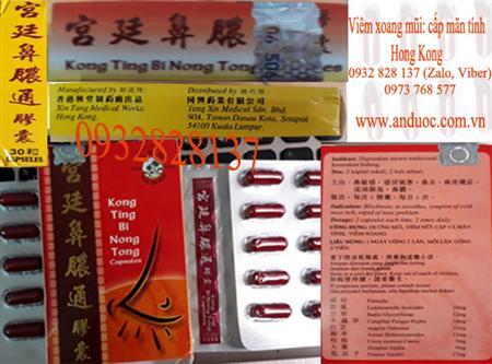 Thuốc chữa trị viêm xoang mũi xuất xứ Hong kong
