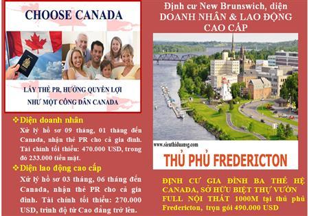 270.000 USD - Định cư gia đình 03 thế hệ Canada, sở hữu nhà