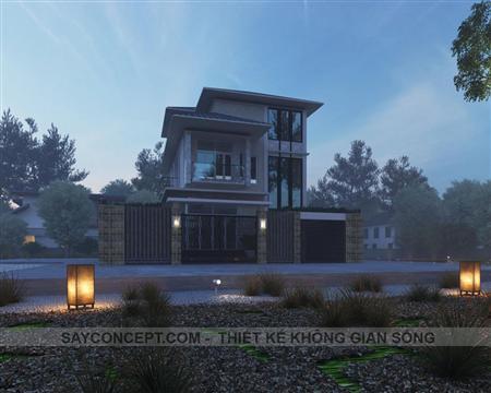 Thiết kế kiến trúc nội thất - Diễn họa 3d theo yêu cầu