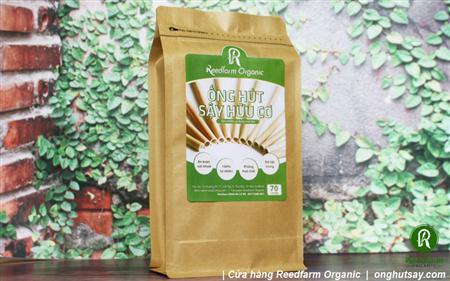 Ống hút sậy Reedfarm Organic: chất liệu mới cho những bước t