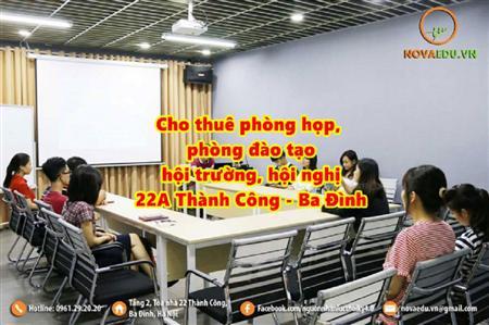 Cho thuê phòng học, phòng đào tạo tại Hà Nội