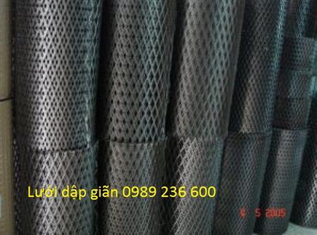 Lưới dập giãn, lưới hình thoi tại Hà Nội, hàng có sẵn tại kho.