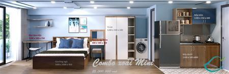 Chỉ với 25tr, ngôi nhà của bạn được trang bị tất cả nội thất gỡ.