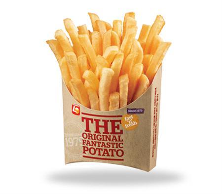 Vì sao ưu tiên chọn bao bì giấy đựng khoai tây chiên?