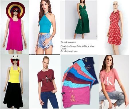 Bán sỉ đầm thời trang,áo thun,áo phông giá rẻ,hàng vnxk rẻ n
