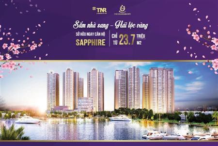 Sở hữu căn hộ tnr gold mark city 136 hồ tùng mậu diện tích 94 - 115 m2.