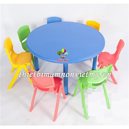 Bộ bàn ghế mầm non cao cấp - thiết bị mầm non giá rẻ nhất