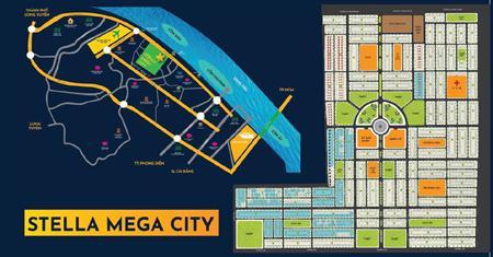 Chỉ 750trieu sở hữu lô đất tại đại đô thị stella mega city bật nhất cần thơ, đã có sổ riêng từng nền