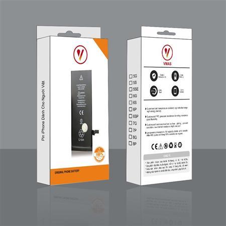 Pin iphone Vmas chính hãng chuẩn zin Apple - bh 18 tháng