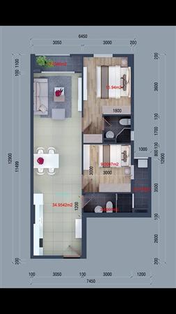 Kẹt tiền cần bán gấp căn hộ cityland gò vấp 77.5m2 hướng bắc lầu 11
