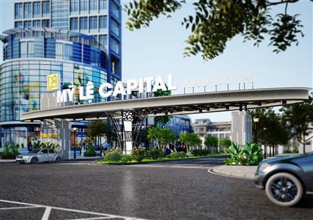 Bán đất khu đô thị mỹ lệ capital giá 285 triệu/nền