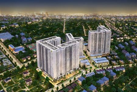 Cần bán chung cư golden mansion 1 phòng ngủ diện tích 49m2, hướng nam view nội khu và hồ bơi