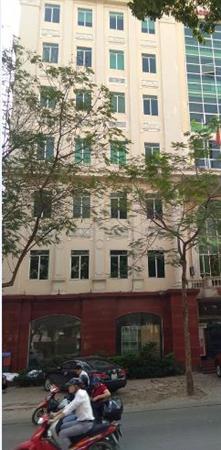 Bán tòa nhà khách sạn mặt phố đông quan, cầu giấy, hà nội 298m2x11t 68 tỷ