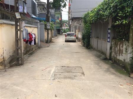 Bán đất mặt ngõ phố đường z153 huyện đông anh
