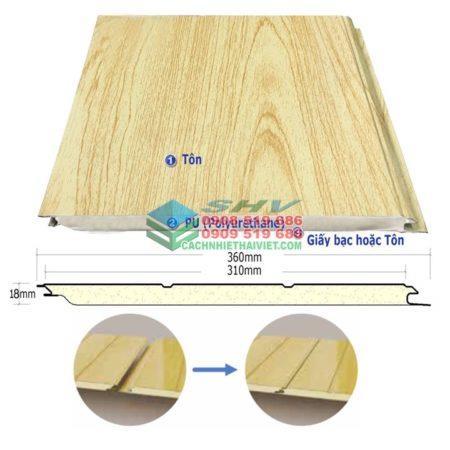 Tấm trần mát thay thế trần thạch cao chống nóng