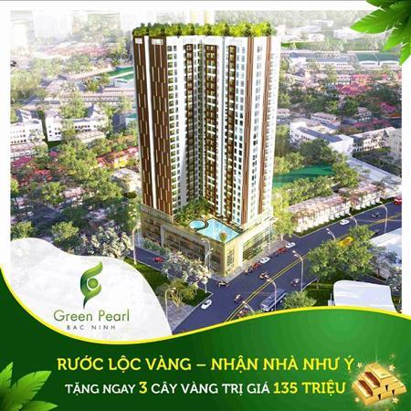 Cần bán căn 2 pn giá 1.6 tỷ Chung Cư Green Pearl Bắc Ninh