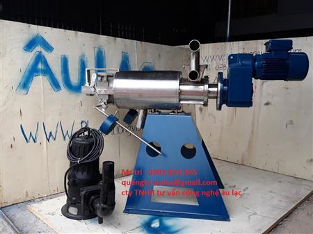 Máy tách phân sản xuất và lắp ráp tại Việt Nam