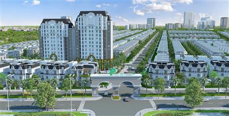 Đất nền nhà phố dự án Phúc An Garden Bàu Bàng
