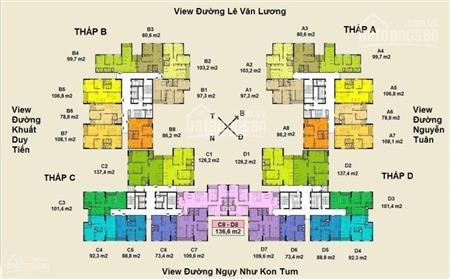 Mở bán 50 căn ngoại giao 2PN - 3PN chung cư Việt Đức