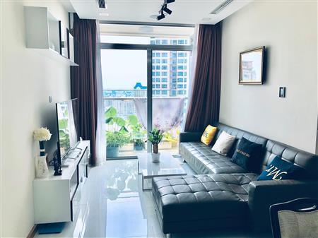 Cho thuê căn hộ Vinhome Central Park 2PN Full nội thất sang