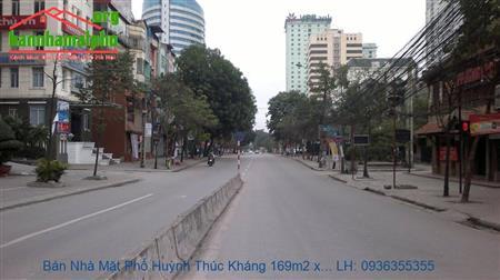 Bán Tòa Nhà Mặt Phố Huỳnh Thúc Kháng, 170m2, 8 Tầng, 2 Mặt